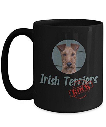 Irish Terriers Rock! Ceramic Coffee Mug