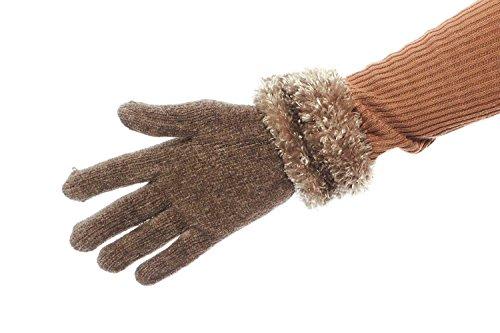 冬Break Chenilleグローブwith Fluffy Cuff