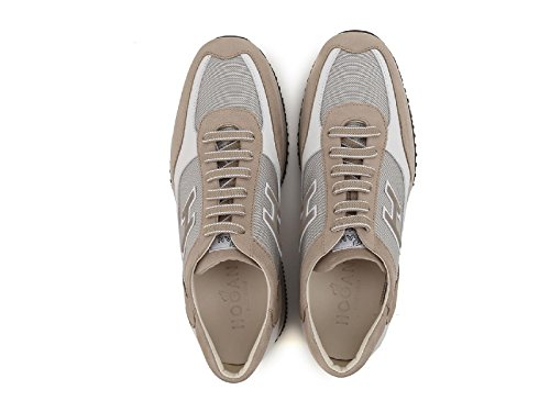 Hogan Sneakers Interactive Uomo in Nabuk e Pelle - Codice Modello: HXM00N0Q102FJ6637M Beige