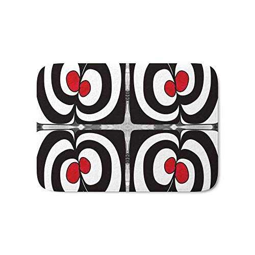 Lilyco-Home Cheshire Cat Abstract Bliss Art by Omashte Bath Mat 36 x 24 inch ()