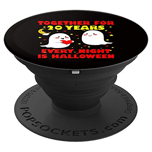 together for 25 years every night is halloween - PopSockets Grip and Stand for Phones and Tablets -