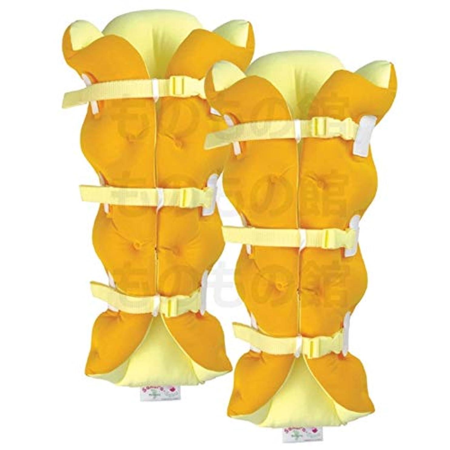 ハイブリッド対人刃サクラ咲く足まくら EVOLUTION (両足セット) オレンジ
