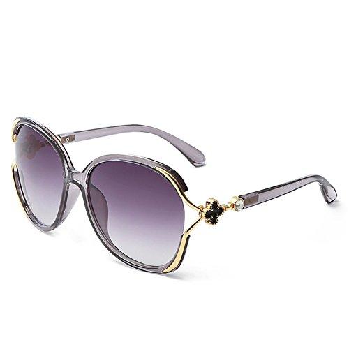 de soleil lunettes soleil 62mm de de 138 NIFG 145 à Les lunettes mode D feuilles femmes quatre trèfle wgUFIX
