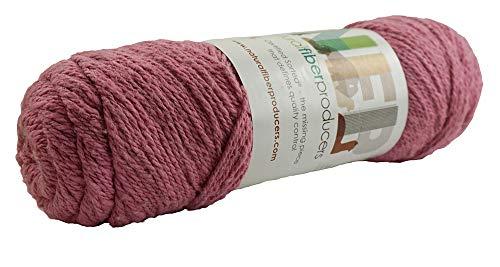 Natural Fiber Producers State Flowers Sport Weight Ultra Fine Cotton/Alpaca/Wool Blend (Pink) ()
