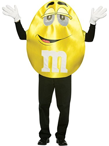 Rasta Imposta M&M's Character Deluxe, Yellow, One Size