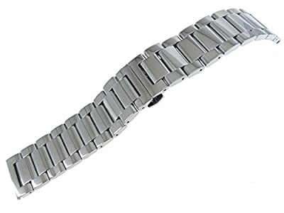 JRRS7777 Men's Watch Band 22mm Stainless Steel Bracelet 3 Row Multi-Colored from JRRS7777