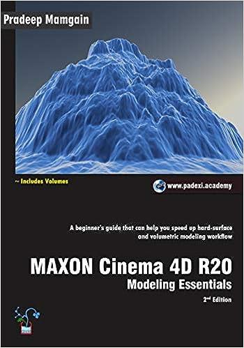Amazon com: MAXON Cinema 4D R20: Modeling Essentials (9781791795481