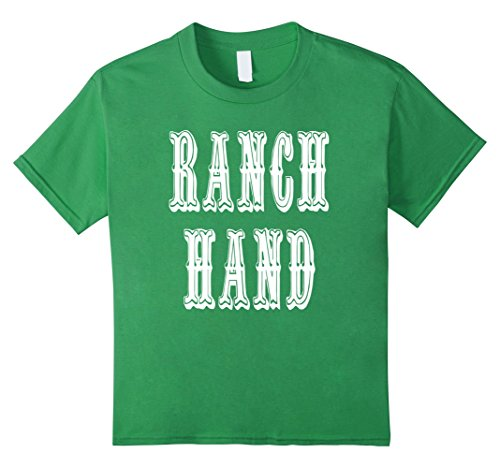 Kids Ranch Hand T-Shirt 6 (Western Themed Party Costume Ideas)