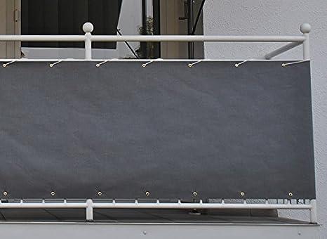Angerer Paravista per balcone Design Style antracite, 75 cm, lunghezza: 6 metro 3318/262_600