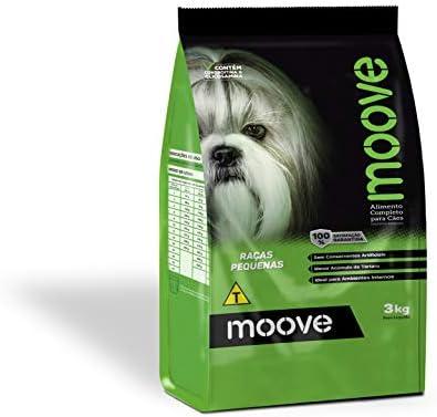 Ração Moove Cães Adultos Raças Pequenas 3kg Chronos Para Todas Pequeno Adulto, Sabor Frango