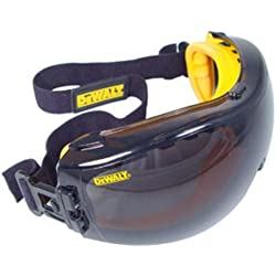 Dewalt DPG82-21 Concealer Smoke Anti-Fog Dual Mold Safety Goggle