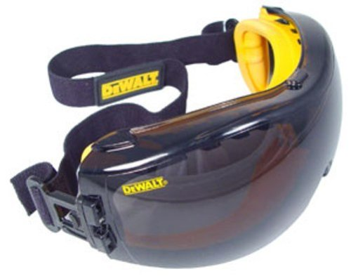 Dewalt DPG82-21 Concealer Smoke Anti-Fog Dual Mold Safety Goggle (Channel Safety)