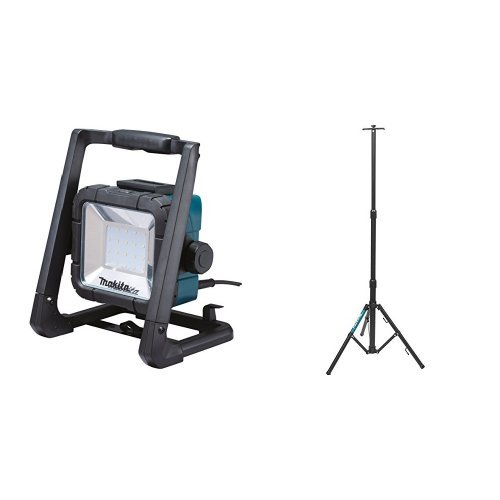 Makita DML805 18V LXT Lithium-Ion Cordless/Corded L.E.D. Flood Light Tool with Portable Tripod Stand