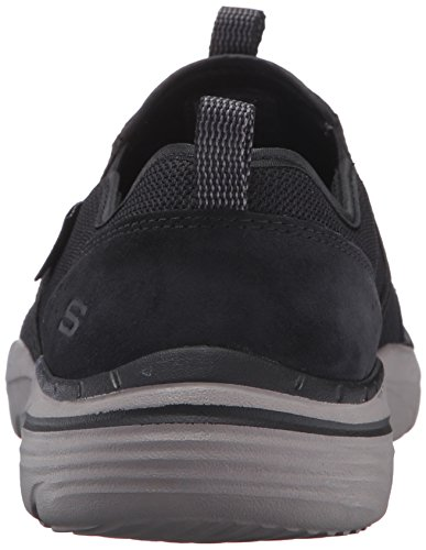 Skechers USA hombre Corven Horst Slip-On Loafer Negro