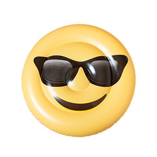 Ankit Emoji Pool Floats For Adult - Giant Emoji Floaties Inflatable Raft Floater 48''