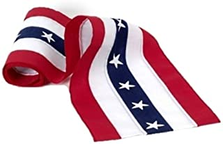 product image for Independence Bunting - 3' American Made Nylon USA Bunting. Patriotic Bunting Banner with Embroidered Stars & Sewn Stripes! Sold by The Yard.