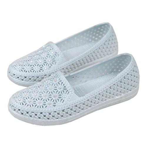 [テンカ]ビーチサンダル レディース レインパンプス フラット 歩きやすい 夏 ぺたんこ 歩きやすい 日常 疲れない お出かけ デート 雨の日 雨靴 ローヒール