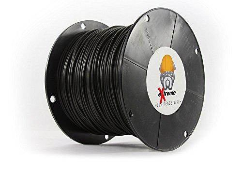 14 Gauge Wire 500 Ft - Heavy Duty Pet Containment Wire Compatible with EVERY In-Ground Fence System for Dogs - Pure Solid Copper Core Dog Containment System Wire by eXtreme Dog Fence