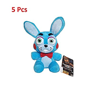 Y-Trust 18cm Five Nights at Freddy's 4 FNAF Bonnie Rabbit Plush Toys Soft Stuffed Animals Toys Doll for Kids Children: Home & Kitchen