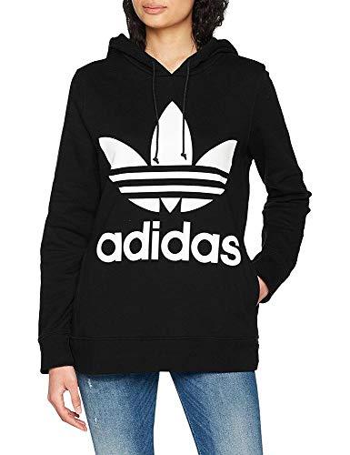 Donna Trefoil Felpa Adidas Nero He tfpYwt1qx