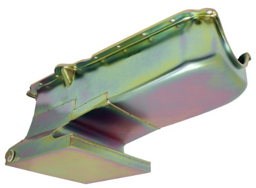 1962-67 Compatible/Replacement for Chevy II/Nova Small Block Drag Racing Oil Pan - Zinc ()
