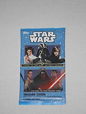 Star Wars Journey To Star Wars: The Force Awakens Trading Card Pack (4 Cards to Pack)