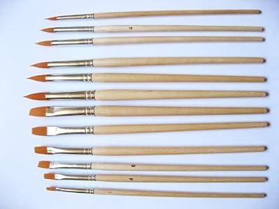 Grace Art Water Color Brush Set WS12 by Grace Art