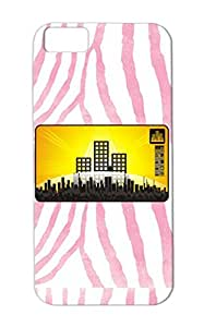 Anti-scratch Cities Countries For Iphone 5c TPU Gold Townstyle Case