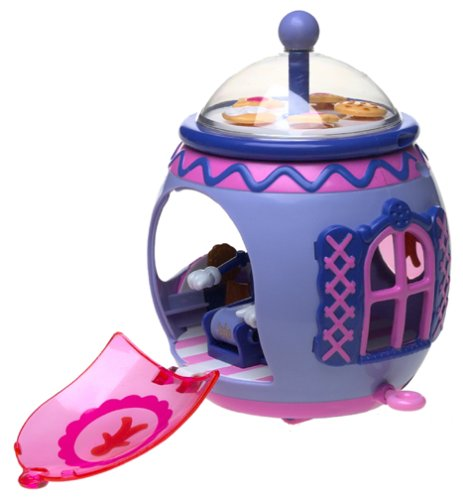 Strawberry Shortcake Berry Cute Rides Cooke Jar - House Ingredients Gingerbread