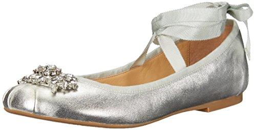 Badgley Mischka Femmes Karter Ii Ballet Plat Argent