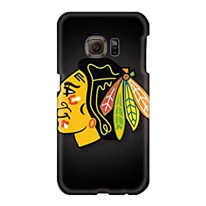 Best Hard Phone Cover For Samsung Galaxy S6 With Allow Personal Design Stylish Chicago Blackhawks Pictures DeanHubley