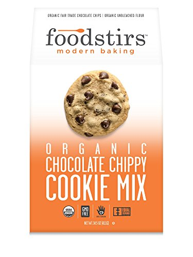 Foodstirs Organic Chocolate Chippy Cookie Dry Baking Mix, 16 Ounce (Pack of 6)