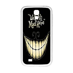 Were all mad here Phone Case for Samsung Galaxy S4