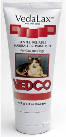 3 pack Vedalax Hairball Preparation for Dogs and Cats, 3 oz. each