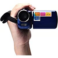 Kwok 1.8 Inch TFT 4X Digital Zoom Mini Video Camera (Kwok Photography series) (Blue)