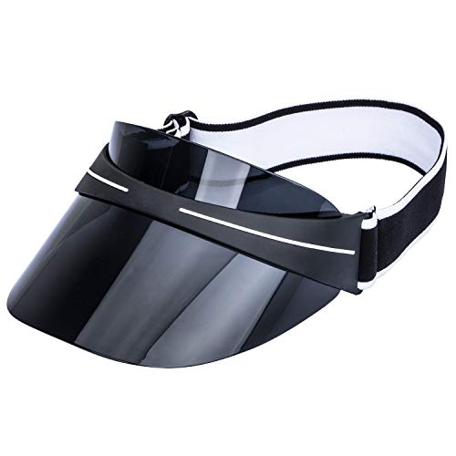 ZEAKER Sun Visor Cap, Summer UV Protection Sport Sun Visor Hat for Women Men ()