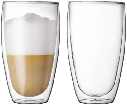 2PCS Highball Drinking Glass Clear Tall Water Tea Milk Heavy Base Lead Free 11oz