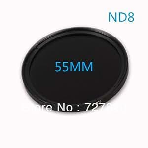 ARBUYSHOP estrenar 55mm Filtro ND8 55 mm ND 8 Filtro de densidad neutra ND variable de la lente caliente de envío libre vendedora