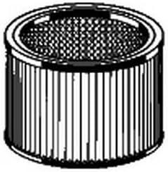 Cartouche filtre cylindre longue duree 787421 pour aspirateur thomas inox 20 inox 30 inox 45 aspirateur thomas inox 1520 plus