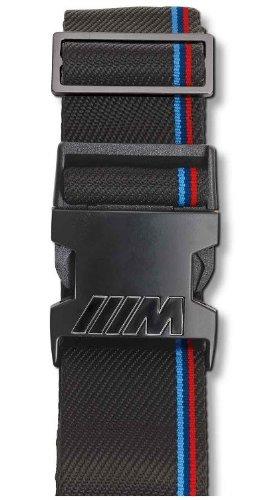 bmw-genuine-sturdy-matte-closure-m-luggage-strap-2-inches-wide-black