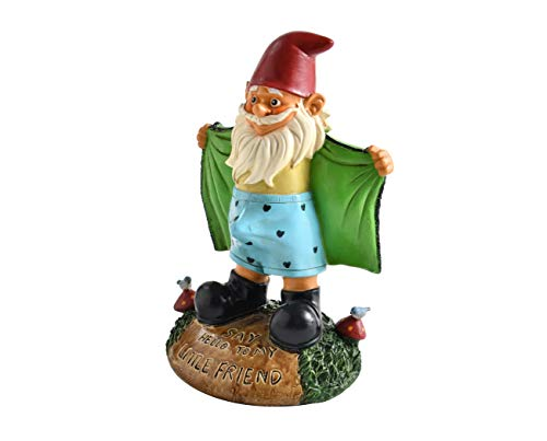 Noa Store Perverted Garden Gnome Figure: Gnome Flashes