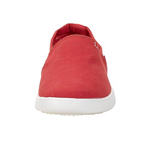 Dude Shoes Frauen Carly Korallen Slip-On Rot
