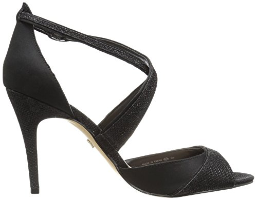 Dreamland Nina Sat Dress Women's Noir Black Celosia Sandal xppX0H1q