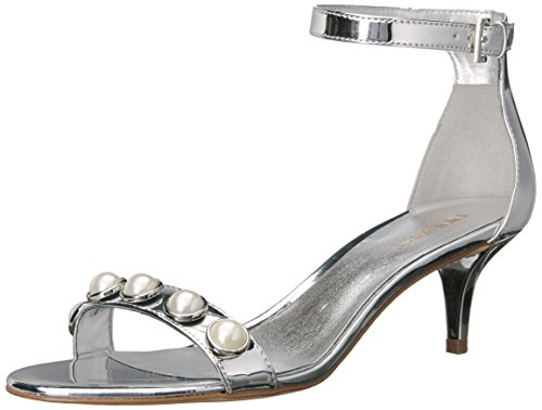 Silver West Fashion Lipstick Nine Women's Sandals Rw8xqAYSX
