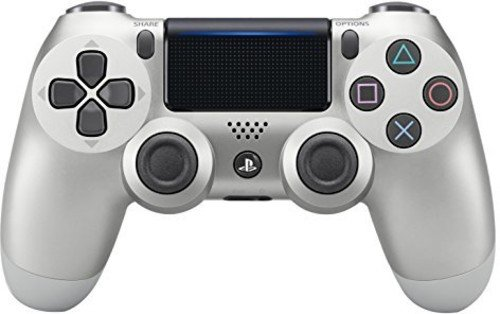 DualShock 4 Wireless Controller for PlayStation 4 - Silver - Multi Zone Controller