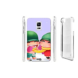 FUNDA CARCASA WINTER COUPLE PARA SAMSUNG GALAXY NOTE EDGE N915