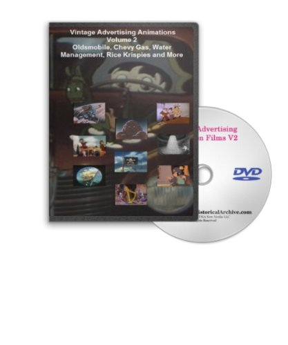 Advertising Animations Volume 2 on DVD - Oldsmobile, Chevy Gas, Water Management, Rice Krispies and More