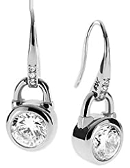 Richy-Glory - Drop Earrings Gold And Silver Plated Metal Earrings