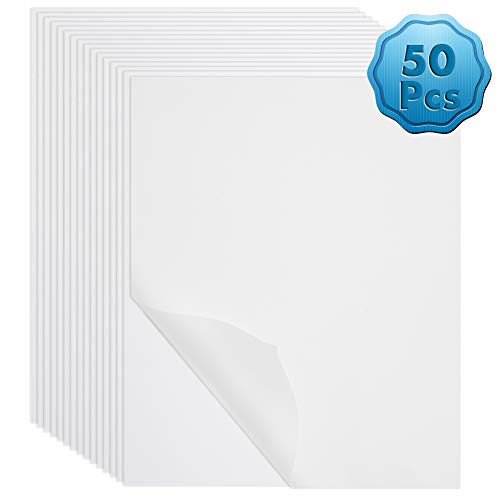 Vellum Paper, Cridoz 50 Sheets Vellum Transparent Tracing Paper 8.5 x 11 Inches Translucent Paper Clear Paper for Sketching Tracing Drawing Animation