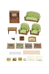 Sylvanian Families Living Room & TV Set Furniture Toy